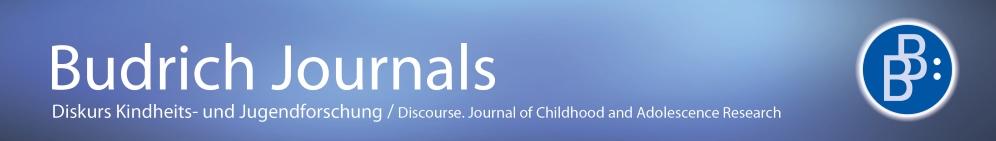 Diskurs Kindheits- und Jugendforschung
